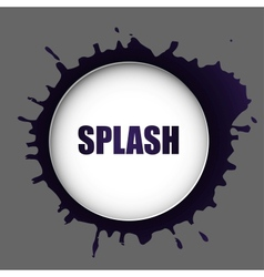 splash vector image