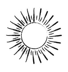 Sun burst light vector image
