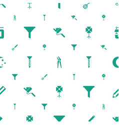 Tool icons pattern seamless white background vector