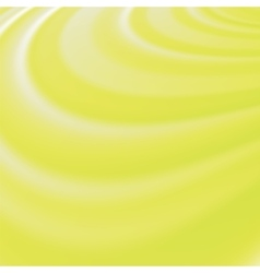 Abstract Glowing Yellow Waves vector image vector image