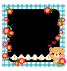 photo framework vector image vector image