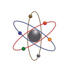 atoms vector image