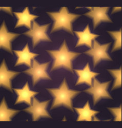 seamless texture with blurred stars vector image vector image