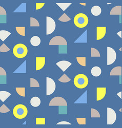 Color blocks seamless pattern vector