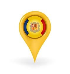 Location Andorra vector