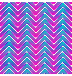 neon waves seamless pattern vector image
