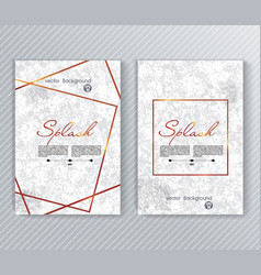 splash ink texture imitation abstract background vector image