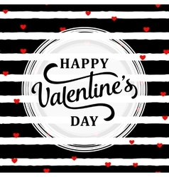 Stylish valentines day vector