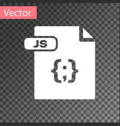 White js file document download js button icon vector