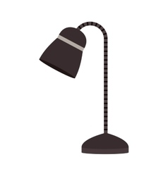 Isolated lamp design vector image vector image