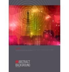 Real estate brochure template design Company vector image vector image