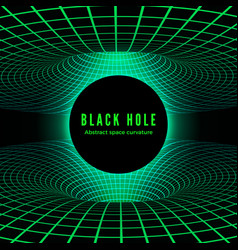 Abstract black hole deformation time and space vector