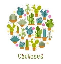 Cactus label vector