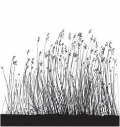 Grass landscape vector
