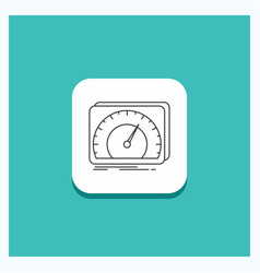 Round button for dashboard device speed test vector