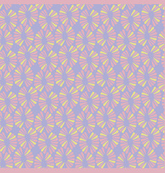 seamless ice cream pattern with retro vector image