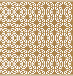 seamless pattern based on ornament kumikogolden vector image