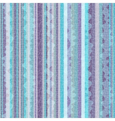 Striped blue-violet zigzag pattern vector image