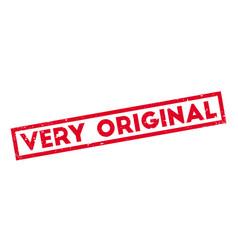 very original rubber stamp vector image