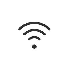 wifi icon wlan access wireless wifi hotspot vector image