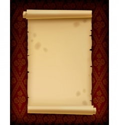 old parchment vector image vector image
