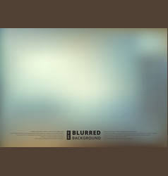 abstract blue blur unfocused style background vector image vector image