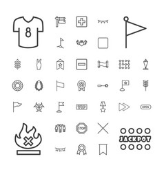 37 banner icons vector