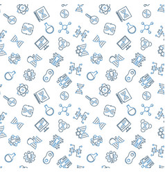 Cloning outline seamless pattern vector