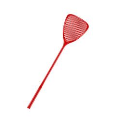 Flyswatter in red design vector