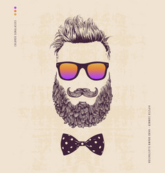 hipster summer vector image