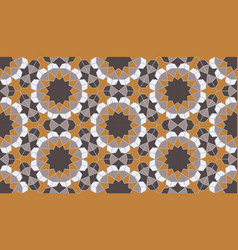 Islamic colorful geometric seamless pattern vector