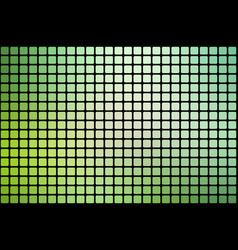 Light green shades abstract rounded mosaic vector