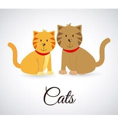 Pets design vector