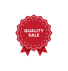 quality product label market tag design vector image