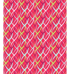 Seamless Bright Abstract Vertical Pigtail Pattern vector