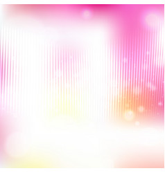 Shining with particles on blurred background vector