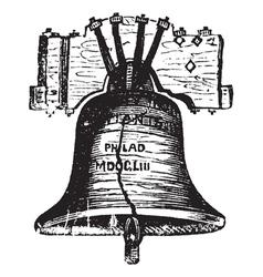 Liberty Bell USA vector image vector image