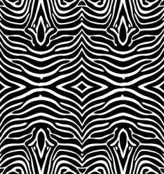 zebra skin wallpaper vector image