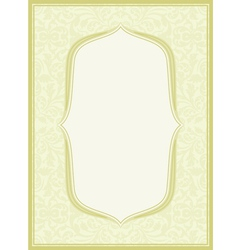 light yellow background vector image vector image