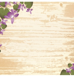 natural wooden background vector image vector image