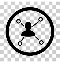 Person Relations Icon vector image