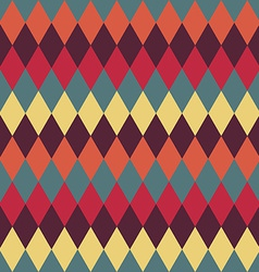 Circus seamless background Contrast dark rhombus vector
