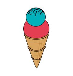 ice cream icon image vector image
