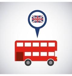 London city classic icon vector