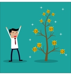 Money plant vector image