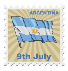 National day of Argentina vector