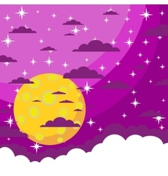 Night background vector