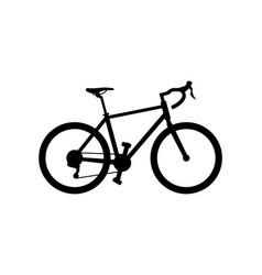 Road bike vector