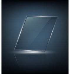 transparent touch screen vector image