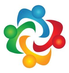 Diversity teamwork vector image vector image